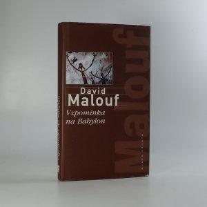 náhled knihy - Vzpomínka na Babylon