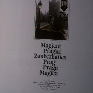 antikvární kniha Magical Prague. Zauberhaftes Prag. Praga Magica, 1992