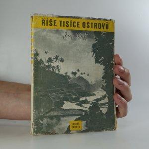 náhled knihy - Říše tisíce ostrovů
