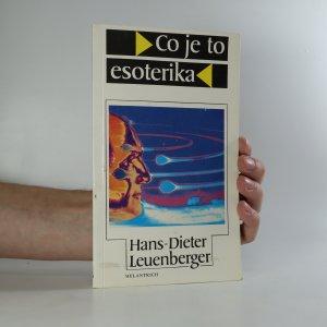 náhled knihy - Co je to esoterika