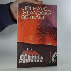 náhled knihy - Islandská setkání