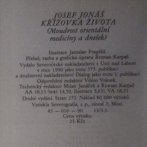 antikvární kniha Křížovka života. Moudrost orientální medicíny a dnešek, 1990