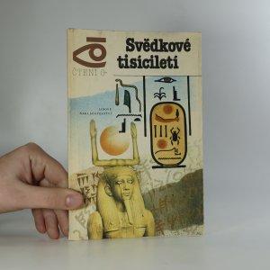 náhled knihy - Svědkové tisíciletí