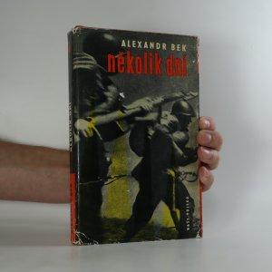 náhled knihy - Několik dní