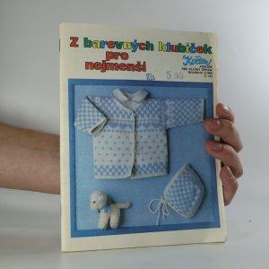 náhled knihy - Z barevných klubíček pro nejmenší. Číslo 122.