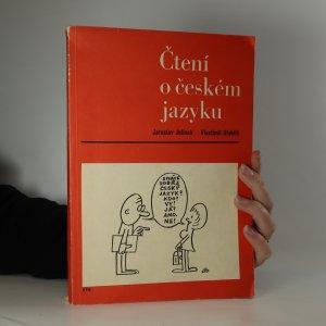 náhled knihy - Čtení o českém jazyku