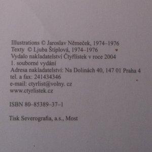 antikvární kniha Proslulé příběhy Čtyřlístku 1974-1976, 2004