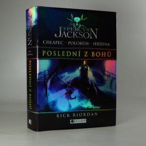 náhled knihy - Percy Jackson. Poslední z bohů.