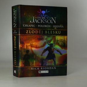 náhled knihy - Percy Jackson. Zloděj blesku.