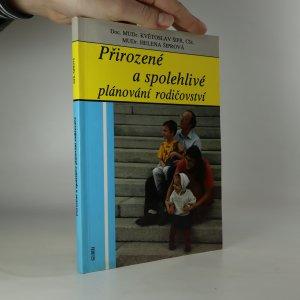 náhled knihy - Přirozené a spolehlivé plánování rodičovství