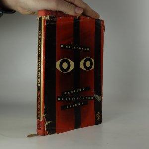 náhled knihy - Kariéra nacistického špióna