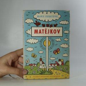 náhled knihy - Matějkov