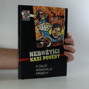 náhled knihy - Nebožtíci kazí pověst a další kriminální příběhy