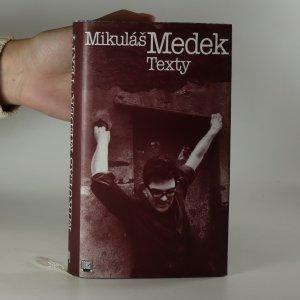 náhled knihy - Mikuláš Medek. Texty.
