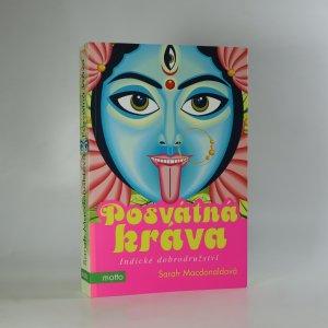 náhled knihy - Posvátná kráva. Indické dobrodružství
