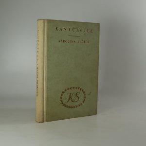 náhled knihy - Kantůrčice