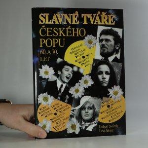 náhled knihy - Slavné tváře českého popu 60. a 70. let