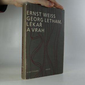náhled knihy - Georg Letham, lékař a vrah