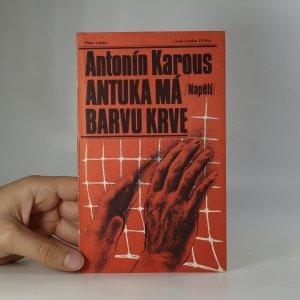 náhled knihy - Antuka má barvu krve