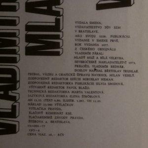 antikvární kniha Mladý muž a biela veľryba. Malý chemický epos, 1977, 1976