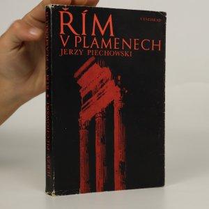 náhled knihy - Řím v plamenech