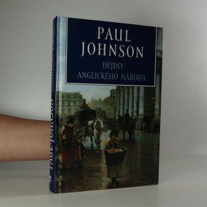 náhled knihy - Dějiny anglického národa