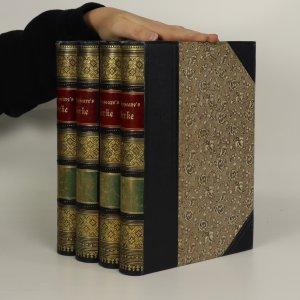 náhled knihy - Sämmtliche werke (I. - IV. díl, 4 svazky)