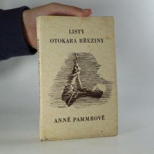 náhled knihy - Listy Otokara Březiny Anně Pammrové