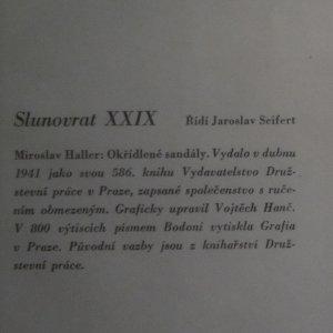 antikvární kniha Okřídlené sandály, 1941