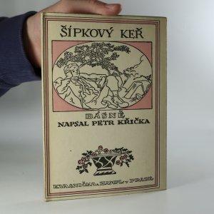 náhled knihy - Šípkový keř. Básně