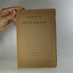 náhled knihy - Nové essaye