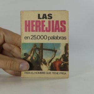 náhled knihy - Las Herejias