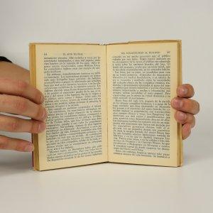antikvární kniha El arte teatral, neuveden