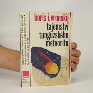 náhled knihy - Tajemství tunguzského meteoritu