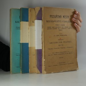 náhled knihy - Posvátná místa Království českého. Řada první, díl III.-VII. (5 svazků)