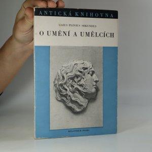 náhled knihy - O umění a umělcích