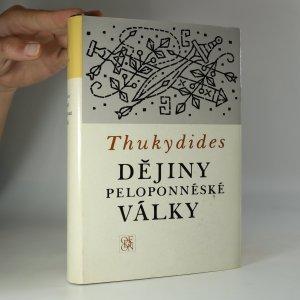náhled knihy - Dějiny peloponnéské války