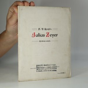 náhled knihy - Julius Zeyer: kritická studie