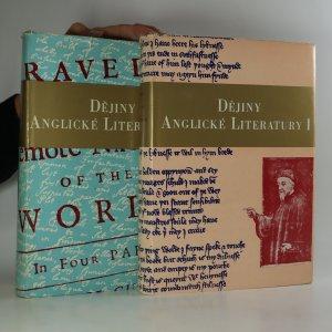 náhled knihy - Dějiny anglické literatury. I-II. díl (2 svazky)