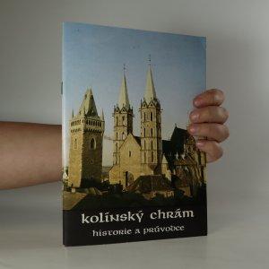 náhled knihy - Kolínský chrám - historie a průvodce