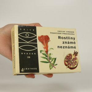 náhled knihy - Rostliny známé neznámé