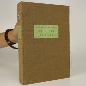 náhled knihy - Horské rostliny. (Rostliny. Díl II.)