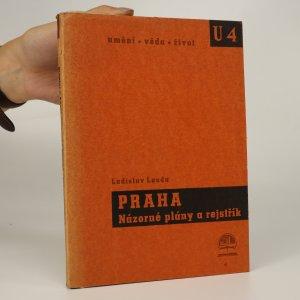 náhled knihy - Praha. Názorné plány a rejstřík