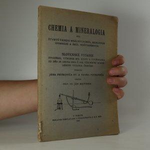 náhled knihy - Chemia a mineralogia pre štvrtú triedu reálných škôl, reálných gymnázií a škôl meštianských