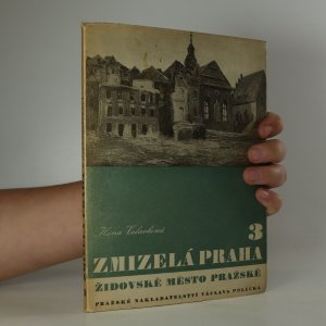 náhled knihy - Zmizelá Praha. 3, Židovské město pražské