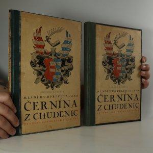 náhled knihy - Mládí Humprechta Jana Černína z Chudenic (textová část a poznámkový aparát, ve 2 svazcích)