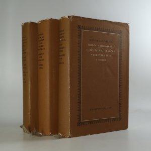 náhled knihy - Spisy Honoré de Balzaca (3 svazky: 8., 10. a 11., viz foto)