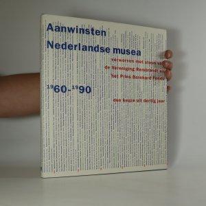 náhled knihy - Aanwinsten Nederlandse musea