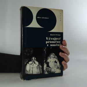 náhled knihy - Vývojové proměny v umění