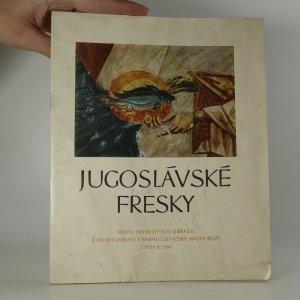 náhled knihy - Jugoslávské fresky